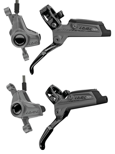 SRAM Level TLM Scheibenbremsen Set Bundle grau